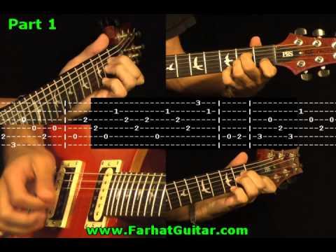 Simple Man Solo - Lynyrd Skynyrd Guitar Cover & Tabs Part 1/4 ...