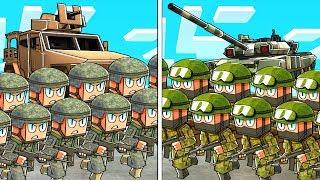 NOOB vs PRO - SPETSNAZ vs US MARINES! (Minecraft Base Wars)