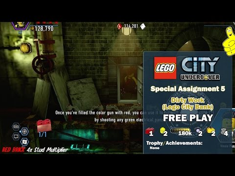 LEGO City Undercover Free Roam Around The City 13 from YouTube · Duration:  23 minutes 6 seconds