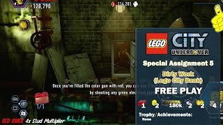 Lego City Undercover Special Assignment 5 Dirty Work Lego City Bank FREE PLAY HTG