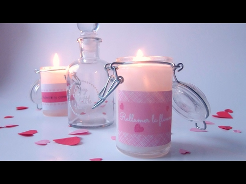 DIY: Scented Valentine's Candle