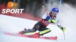 Rekord! Mikaela Shiffrin gewinnt ihren 36. Slalom   ZDF SPORTextra