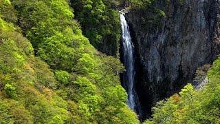 北信州 新緑の滝巡り・4K撮影