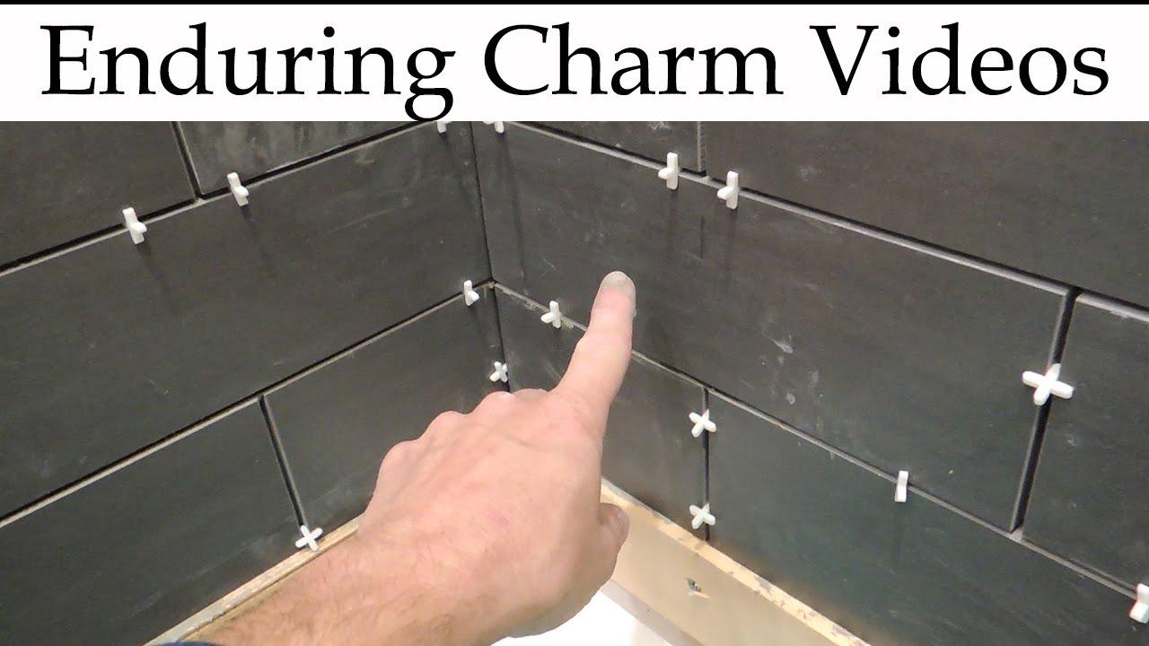 how do you tile a corner ceramics