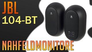 Nahfeldmonitore JBL 104 BT - Ausgepackt und Ausprobiert -DE/GER