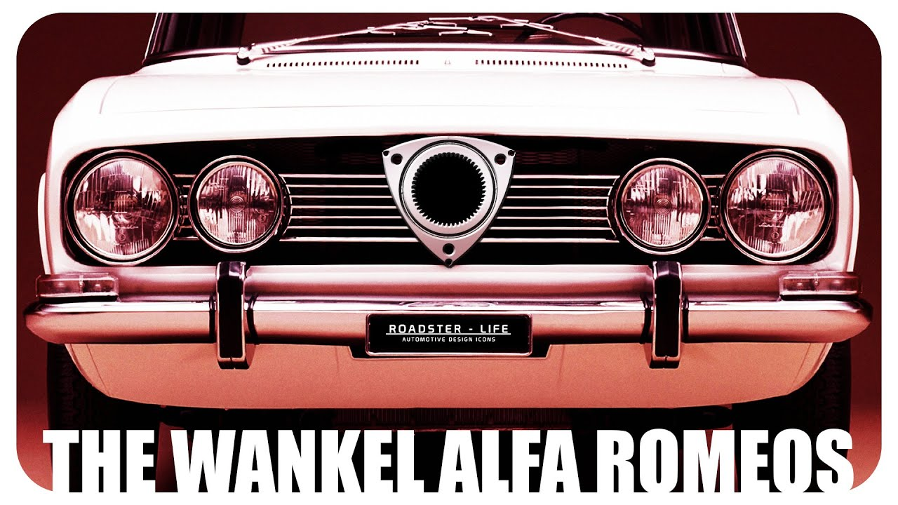 The Secret Alfa Romeo Wankel Engine Program