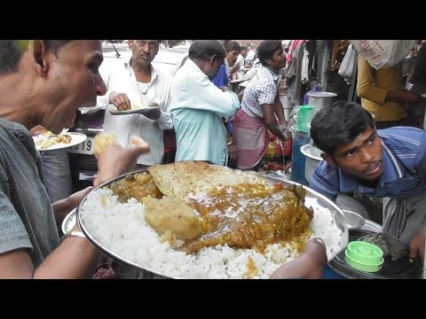 Indian People Are Very Hungry | Everyone Is Eating at Midday Kolkata | Street Food Loves You