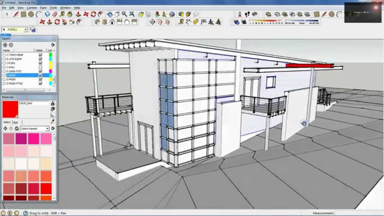 Revit to Sketchup [via 3D AutoCAD File]