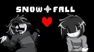SnowFall (undertale comic) #5 | Русский дубляж [RUS]