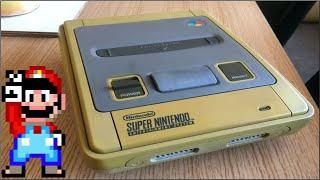 Yellowed Nintendo SNES Perfect Restoration