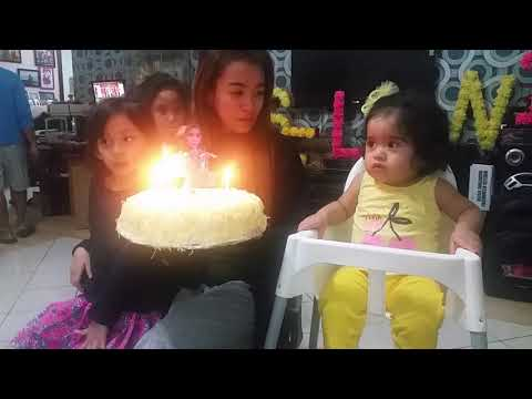 Selin Amaris Esmer Singing Happy Birthday Song for Ate Abby