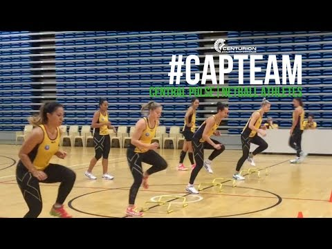 CAP Team- Central Pulse, Netball Team: How A Pro Netball Team Trains...