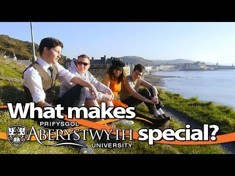 What makes Aberystwyth special?