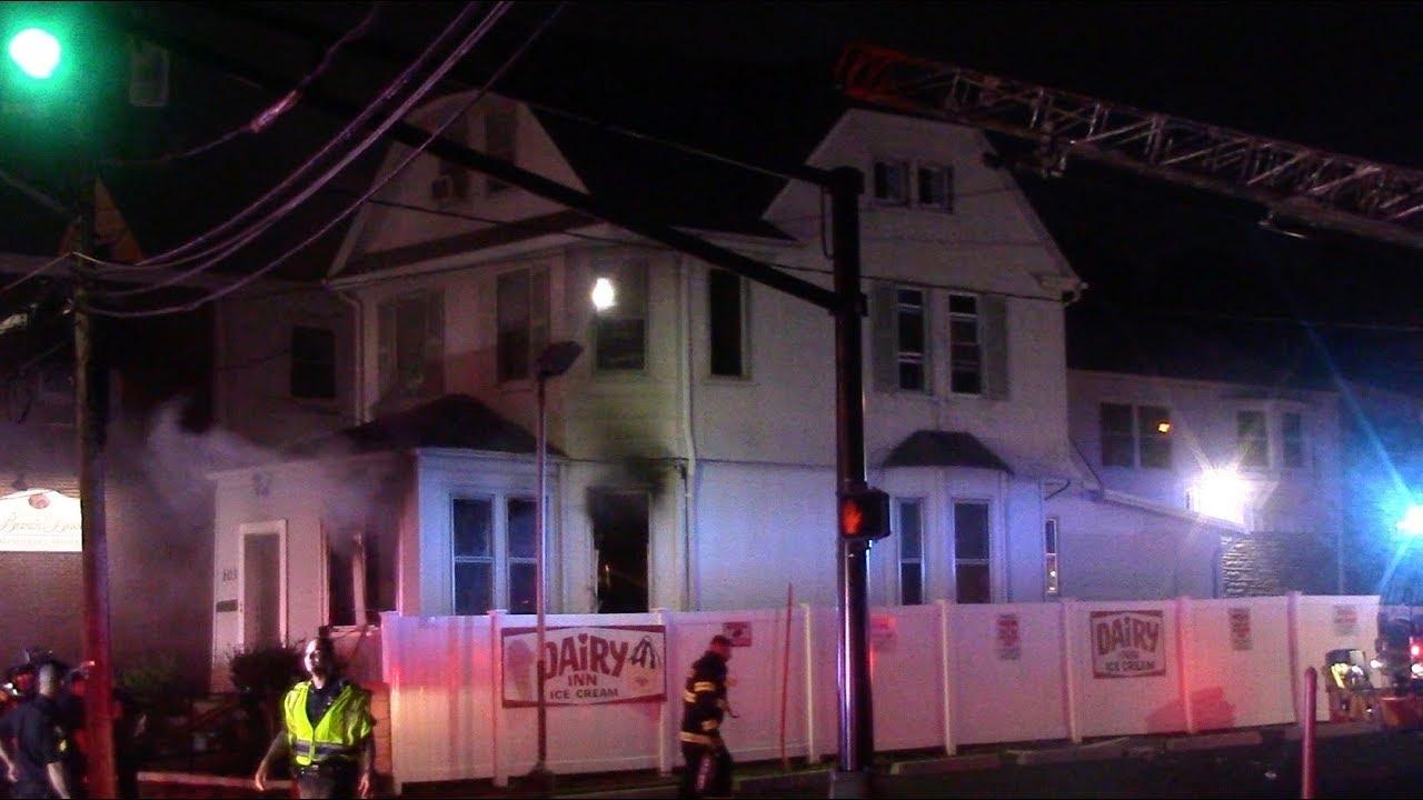Belleville Fire Department 2nd Alarm House 103 Union Ave 5 26 17