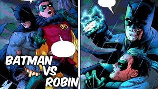 """BATMAN Vs ROBIN (ANTES DEL BAT-METAL) """"AQUÍ INICIA EL REGRESO DE BRUCE WAYNE"""" @SoyComicsTj"""