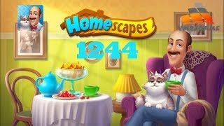 HOMESCAPES Gameplay - Level 1244 (iOS, Android)
