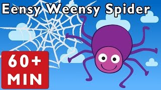 Eensy Weensy Spider and More | Nursery Rhymes from Mother Goose Club!