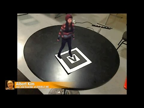 Double Me:interactive characters for VR/AR/CGI productions-The best of Wearable Technology Show 2018