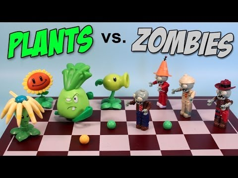 Plants vs. Zombies K'nex Mystery Packs Series 1 Opening Codes