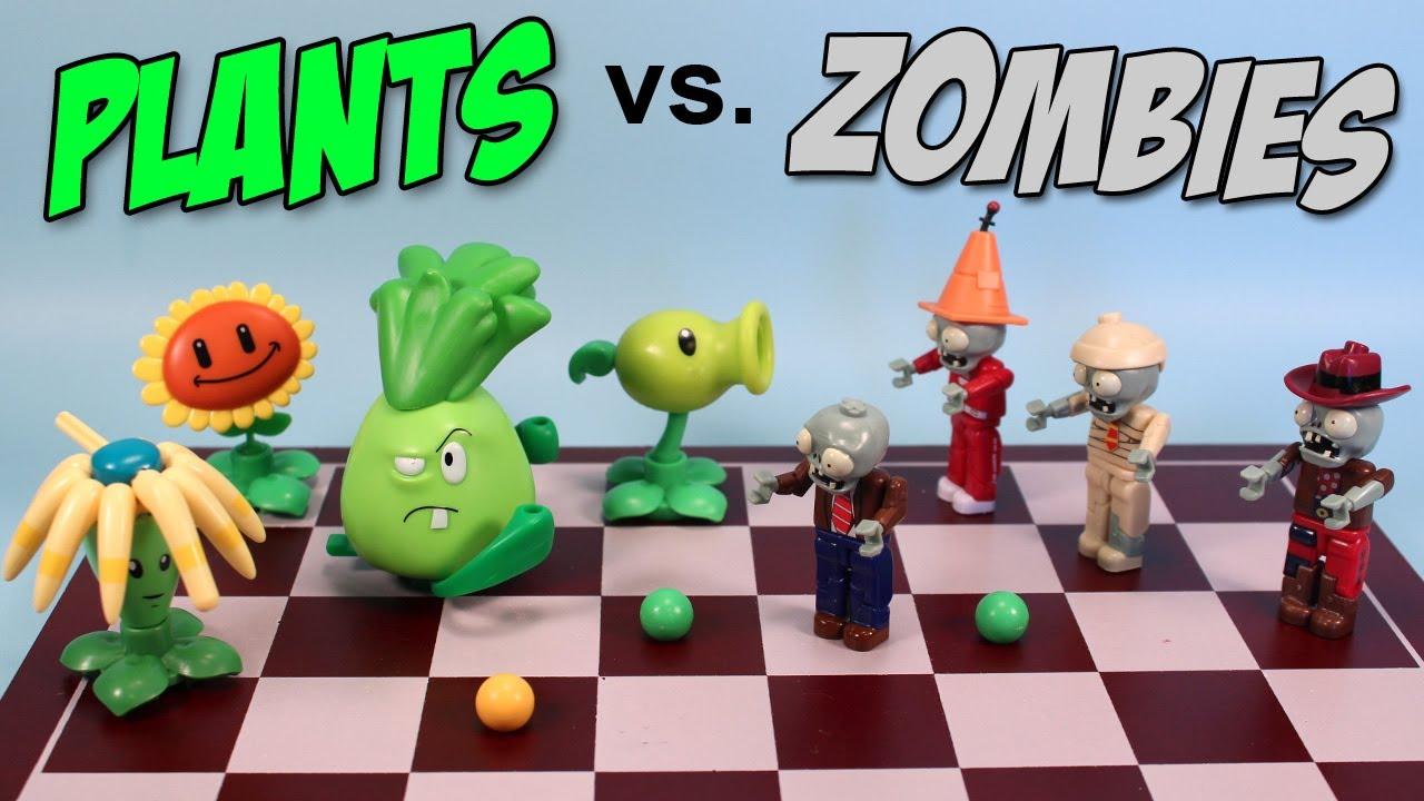 Plants Vs Zombies K Nex Mystery Packs Series 1 Opening