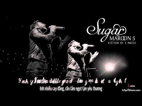 [Lyrics + Vietsub] Sugar - Maroon 5 {Track #5} ~ Kitesvn.com