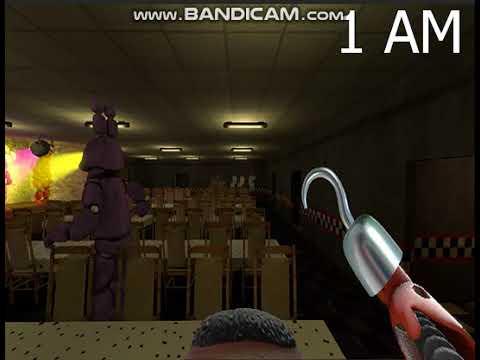 Free Nights With Freddy's играем за фокси от первого лица!!!!