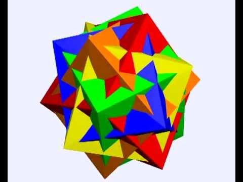 Morphing polyhedron compounds in Stella 5.0