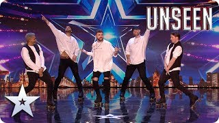 Will the Rollerboys be SKATING into YOUR HEART?! | Auditions | BGT: UNSEEN