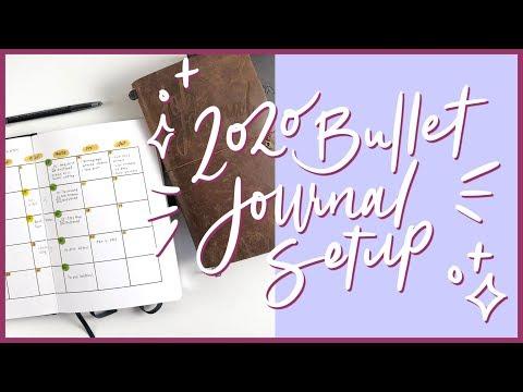 2020 Bullet Journal Setup | Personal BUJO