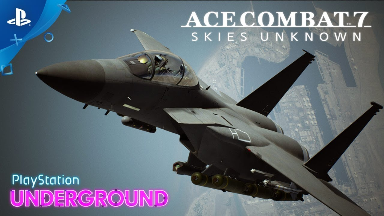 Ace Combat 7: Skies Unknown - VR Gameplay | PlayStation Underground