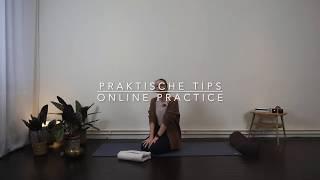 Praktische tips voor een online practice
