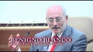 Ideología de género Benigno Blanco 13 6 2012