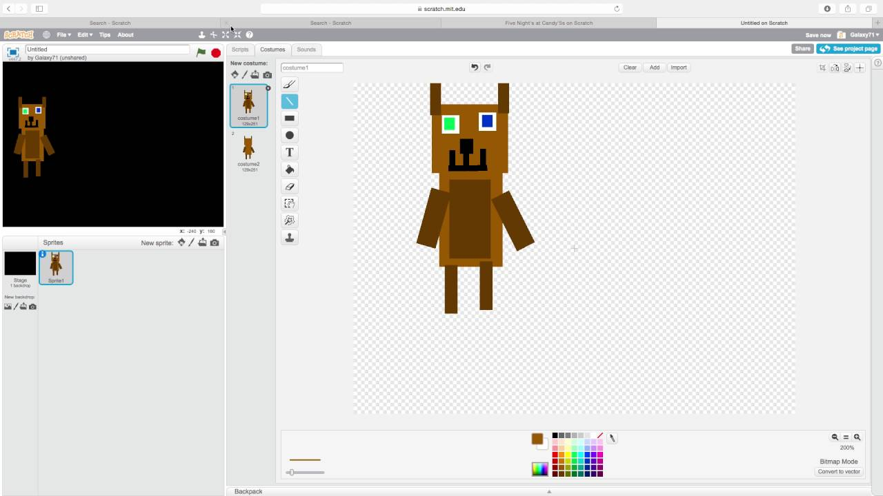 How To Make A Fnaf Minigame On Scratch Give Cake To Child Youtube