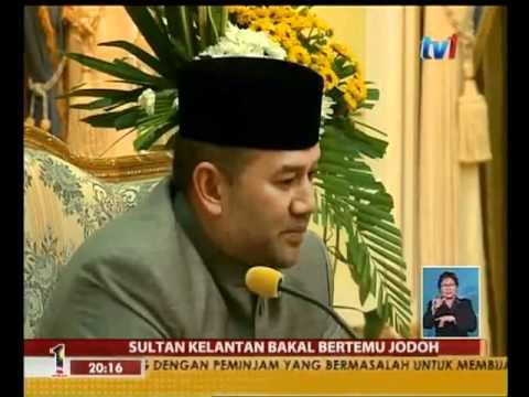 Sultan kelantan muhammad v berkahwin