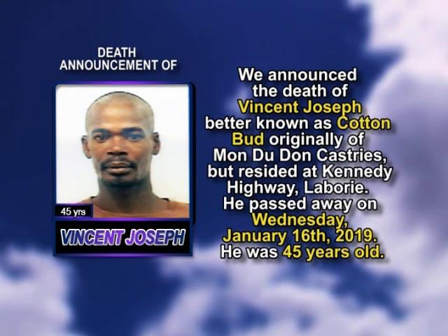 Vincent Joseph short