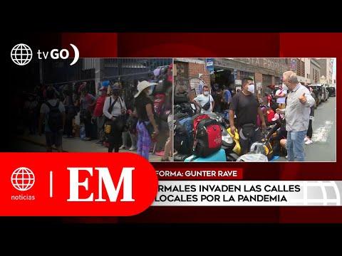 Comerciantes invaden la vía pública en Cercado de Lima | Edición Mediodía