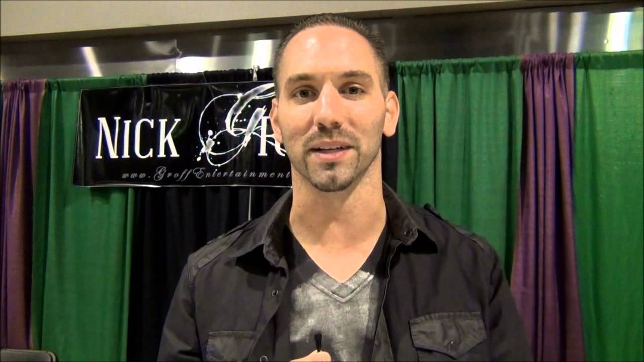 Ghost Adventure S Nick Groff At Scarefest 2012 Youtube