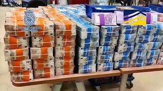 Policía Nacional participa en macrooperación contra una red de narcotráfico