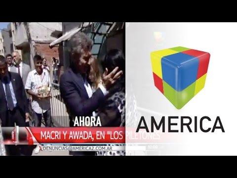 Macri llevó su mensaje navideño al comedor comunitario de Margarita Barrientos