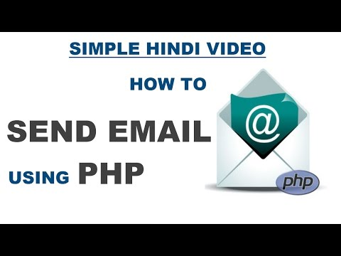 SEND MAIL USING SMTP IN PHP EXAMPLE - SIMPLE PHP MAIL FUNCTION EXAMPLE