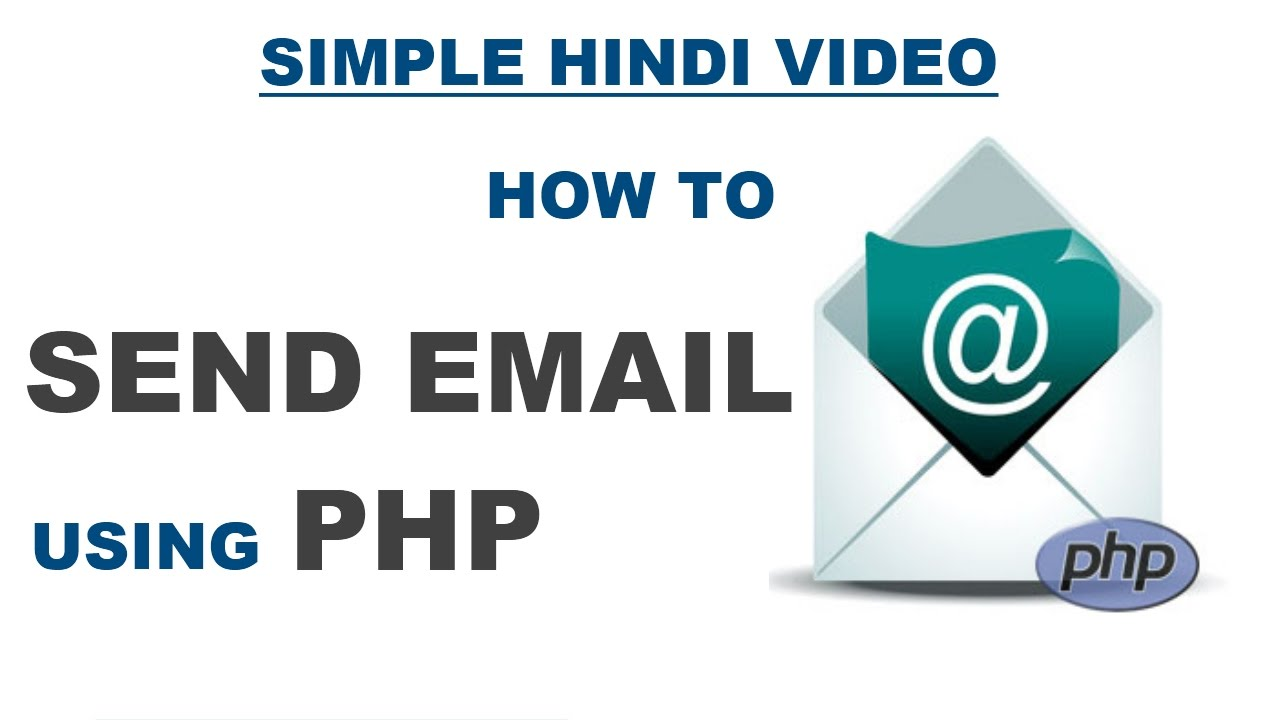 Send Mail Using Smtp In Php Example Simple Php Mail Function