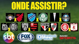 Confira as transmissões da volta da LIBERTADORES no SBT, FOX Sports, Pay per view e Streaming