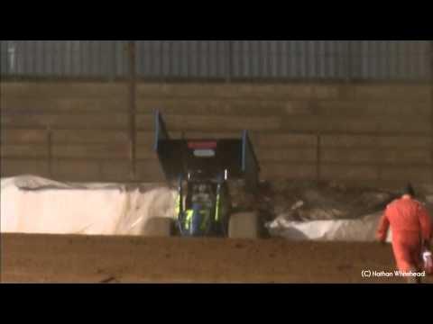 Daniel Goldoni Crash - Sydney Speedway 3-12-11