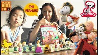 스누피와 찰리브라운. The Peanuts BOOK l Snoopy & Charlie Brown l toy book