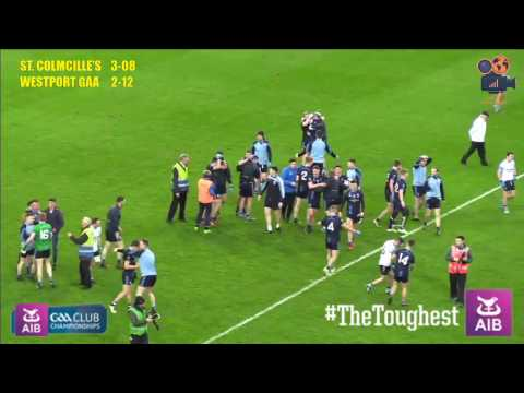 The final minutes of Westport's historic win in the AIB Intermediate All Ireland football final 2017