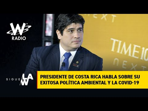 Exclusivo: Habla el Presidente de Costa Rica Carlos Alvarado Quesada