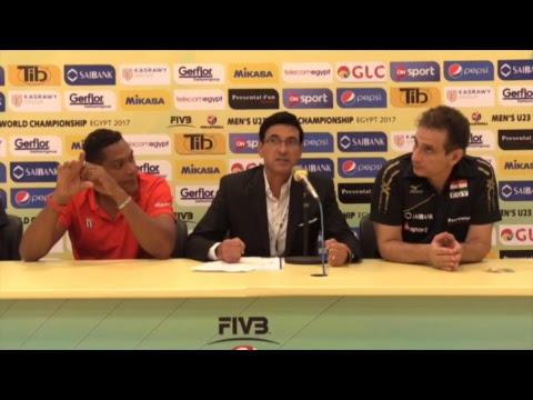 EGY vs CUB 2017 FIVB Men's U23 World Championship