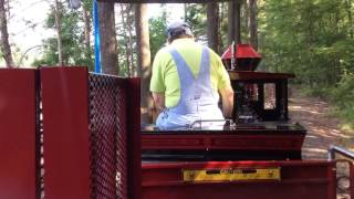 Riding the Train at the Essex County Turtle Back Zoo