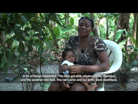 World Disasters Report, Forced migration - Testimony (3/3)
