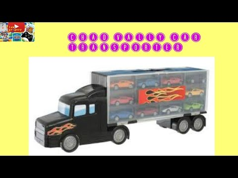 Chad Valley car transporter
